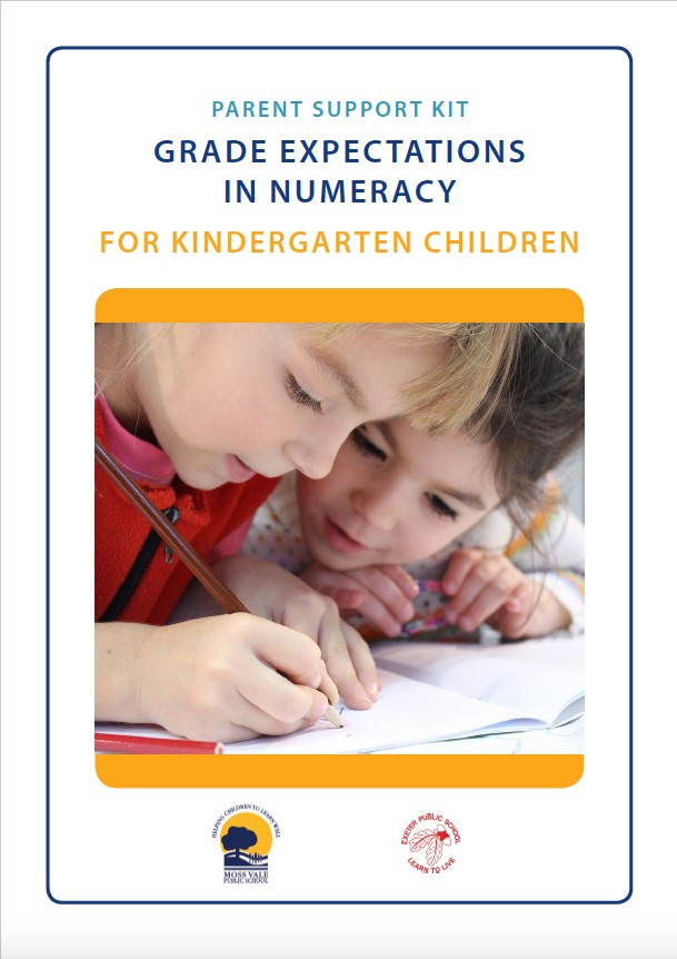 cover-of-kindergarten-parent-support-kit-in-numeracy